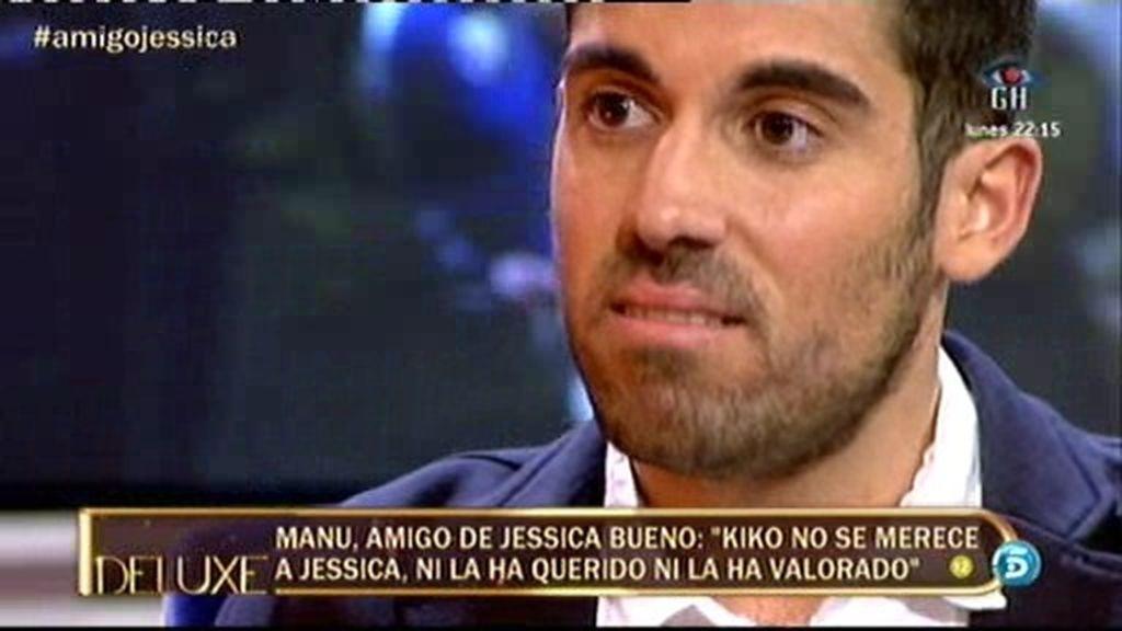 """Manuel Sevilla: """"Jessica ha estado en mi casa llorando 24 horas por Kiko"""""""