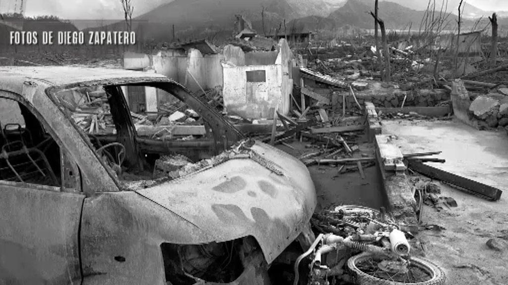 Diego, fotógrafo de la erupción más violenta del Merapi en 2010