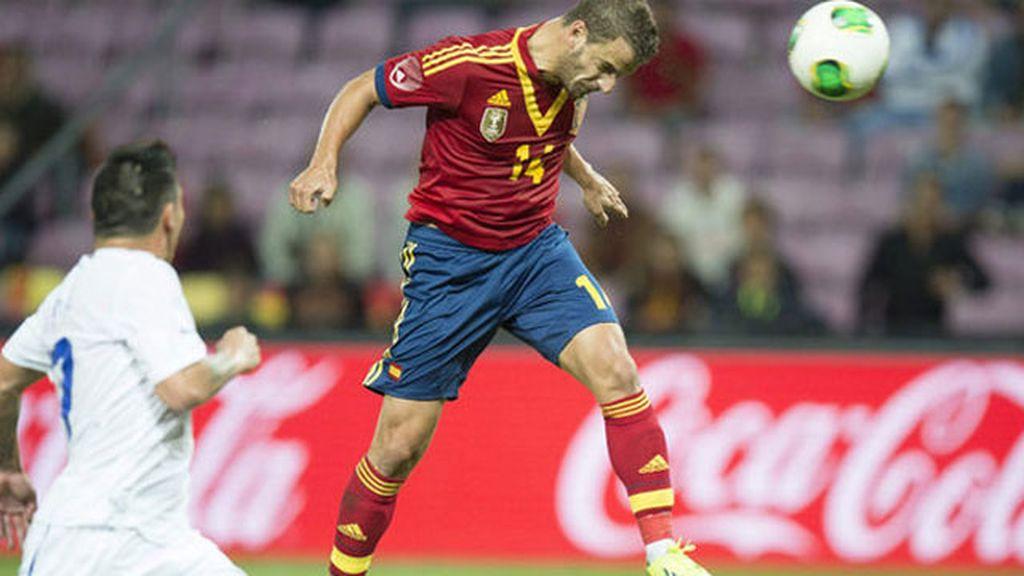 Primera parte: España 1 - 2 Chile