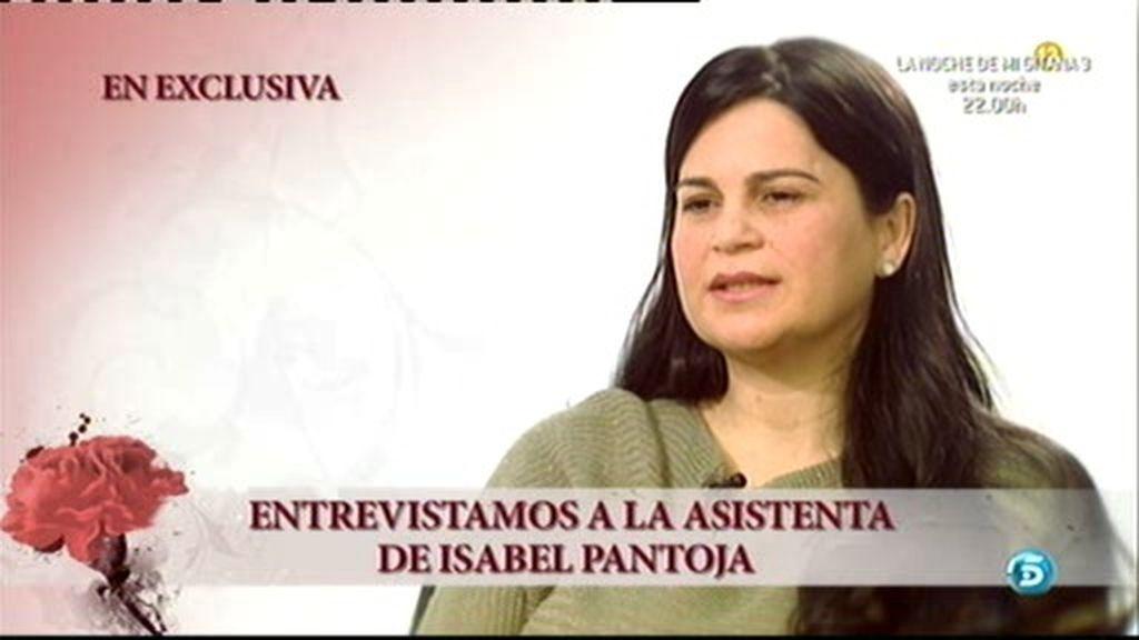 Entrevistamos a la asistenta de Pantoja