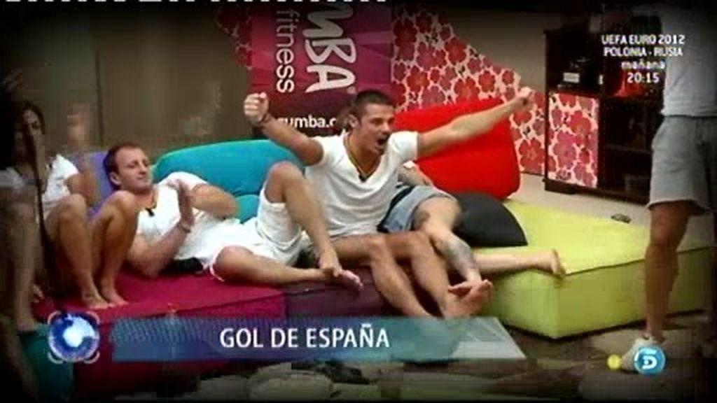 ¡Gol de España!