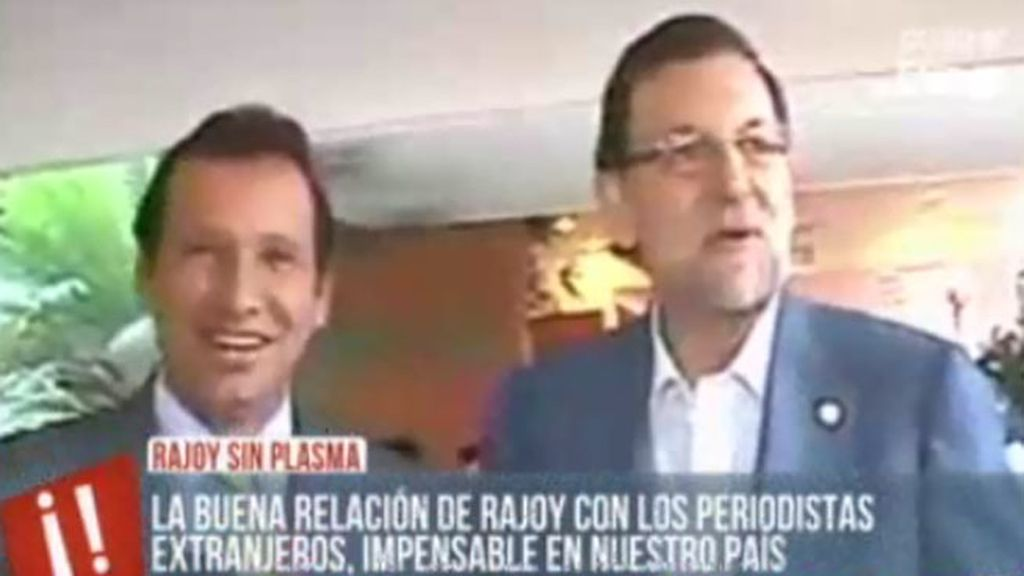 Mariano Rajoy sí contesta a los periodistas fuera de nuestros país