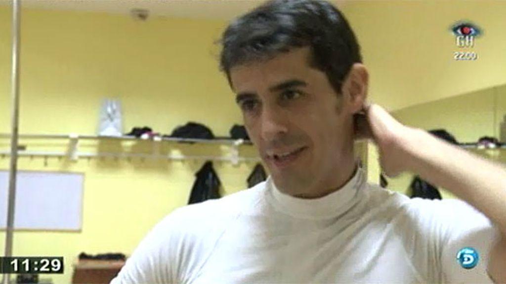 Víctor Janeiro sólo teme la competencia de su chica