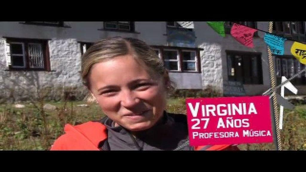 Virginia habla con la web