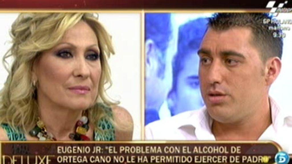 """Eugenio JR: """"Ortega Cano tiene un problema con el alcohol"""""""