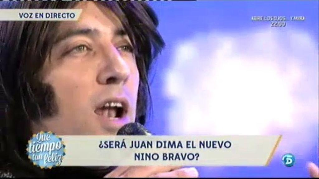Juan Dima, segundo aspirante a Nino Bravo