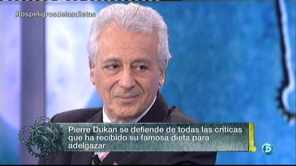 """P. Dukan: """"No he recetado ningún veneno"""""""