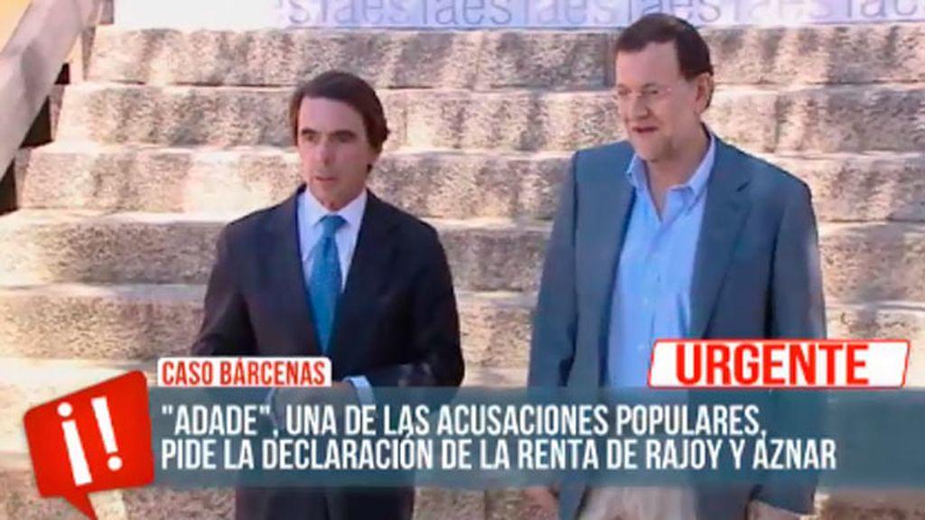 La acusación se plantea citar a José María Aznar como testigo por el 'Caso Bárcenas'