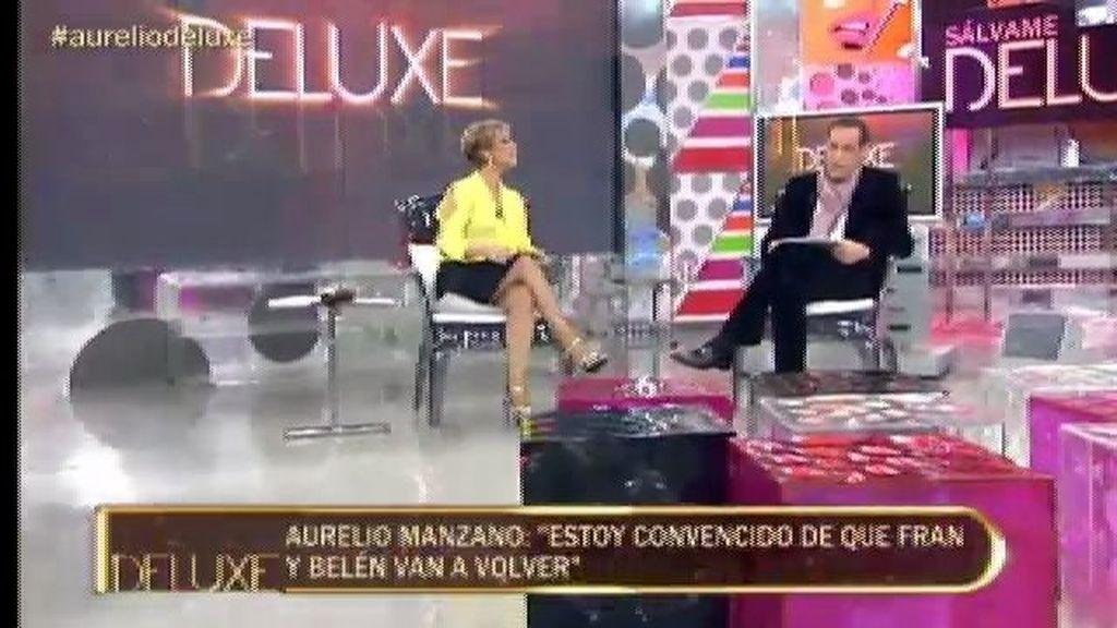 """Aurelio Manzano: """"Fran está haciendo todo lo posible para volver con Belén"""""""