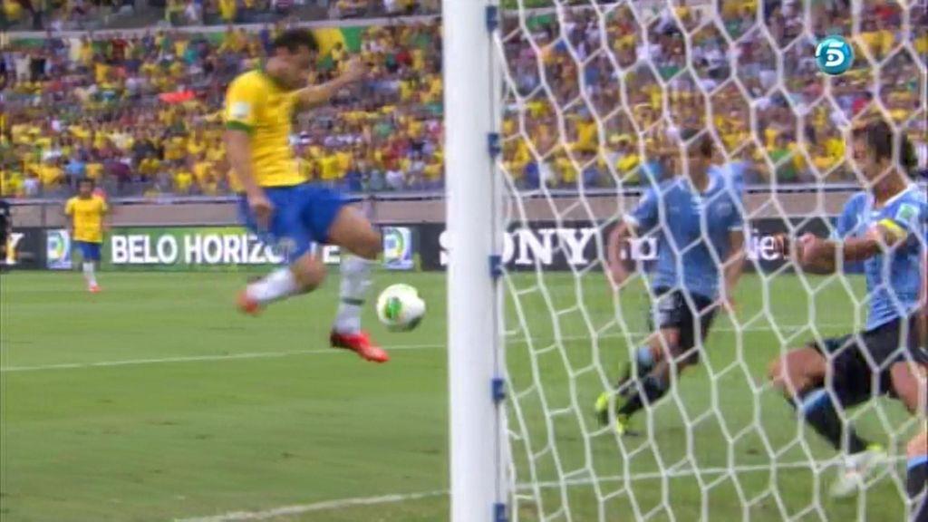 Gol: Brasil 1-0 Uruguay (min.41)
