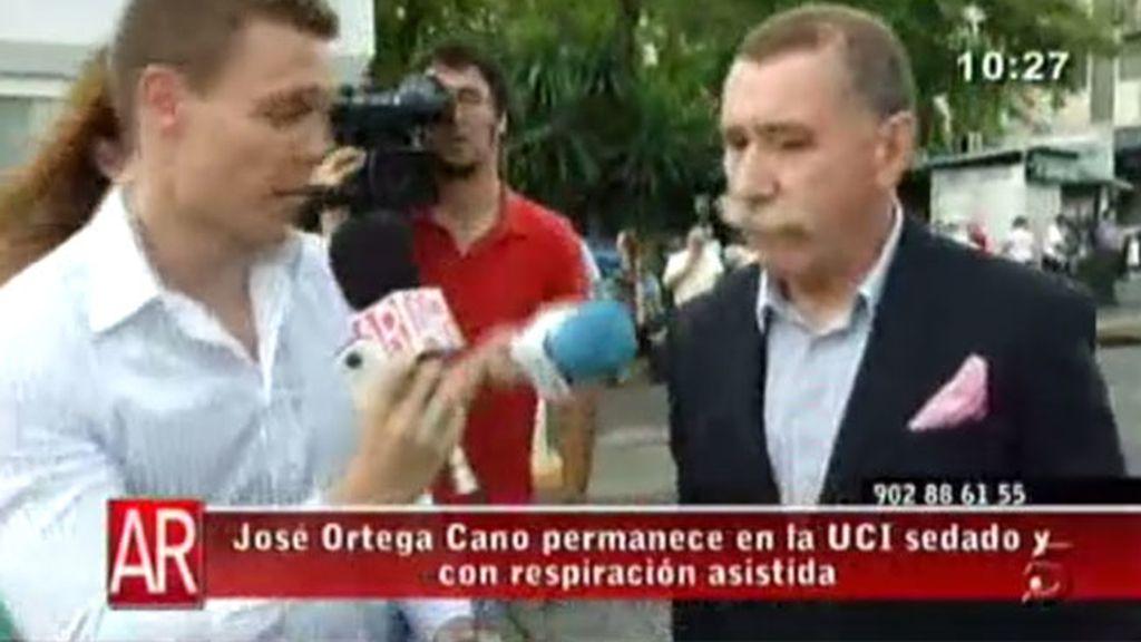 García Montes visita a Ortega