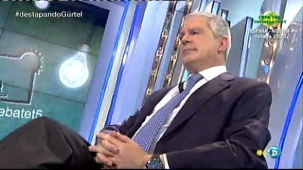 """Pablo Crespo: """"El señor Camps se pagaba sus trajes"""""""