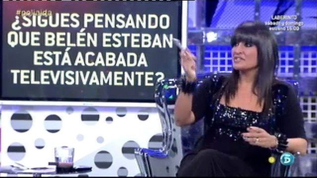 """Aída Nizar considera que Belén Esteban está """"muerta"""" televisivamente"""