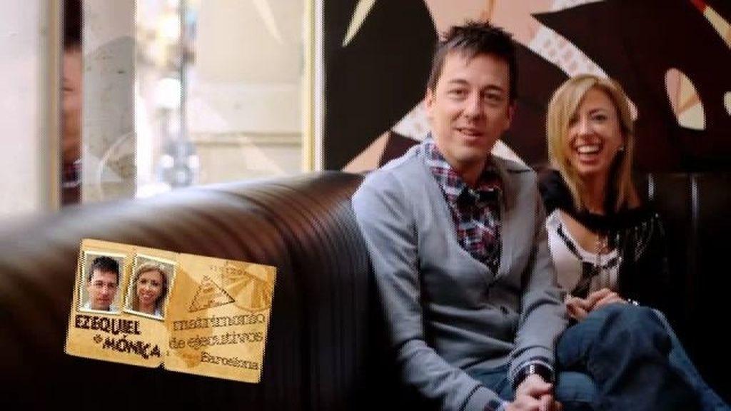 Ezequiel y Mónica, matrimonio de ejecutivos