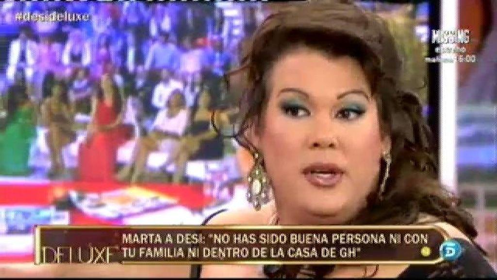 "Desi: ""Mi modelo a seguir es Isabel Pantoja"""