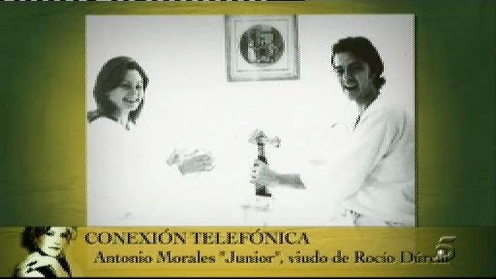 """Junior: """"Rocío Dúrcal era inalcanzable pero luego se convertía en Marieta y podía darle achuchones"""""""