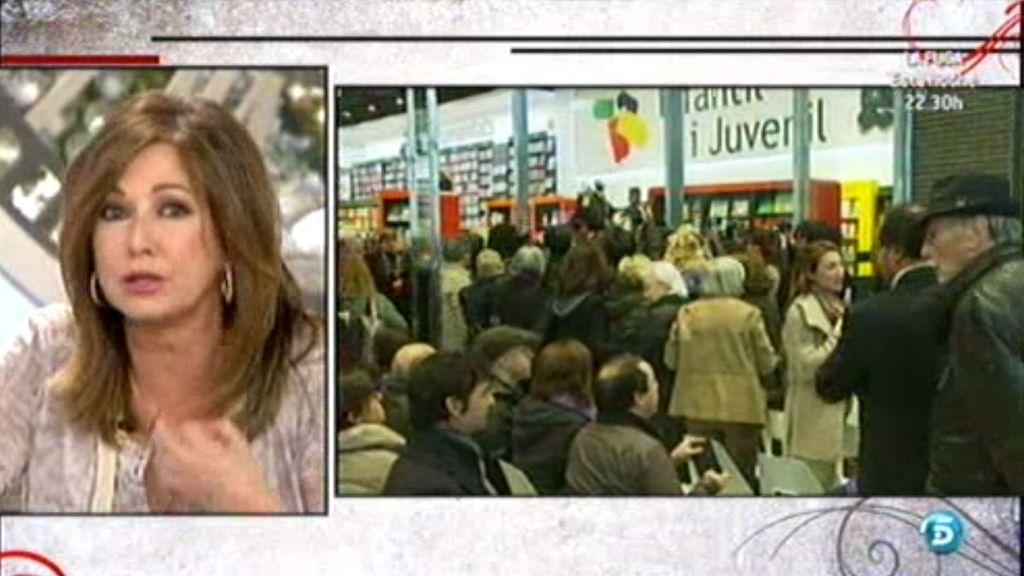 Ana Rosa, indignada con que Arantxa no haya permitido preguntas