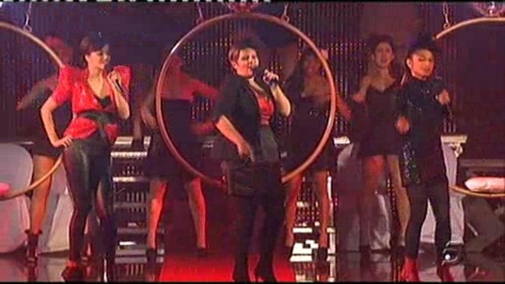 La actuación de las single ladies