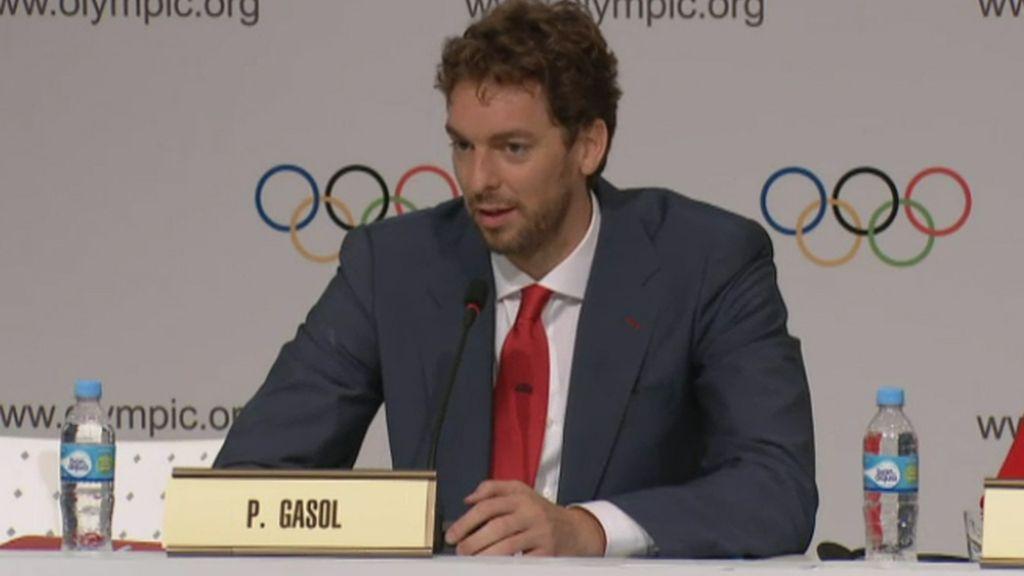 """Gasol: """"Me enteré que iba a defender Madrid 2020 por un mensaje del Príncipe Felipe"""""""
