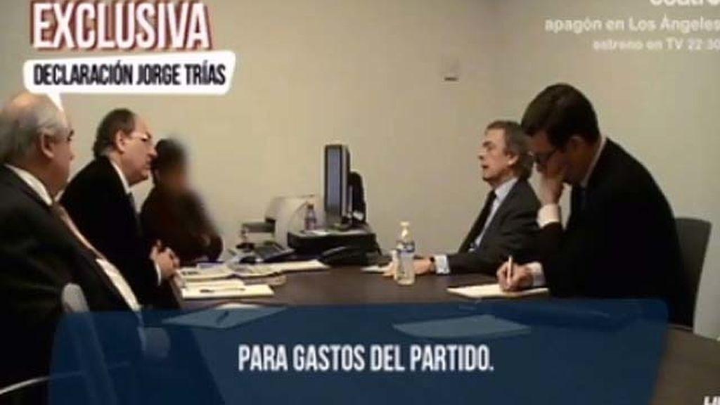 Más declaraciones inéditas de Jorge Trías ante el Fiscal