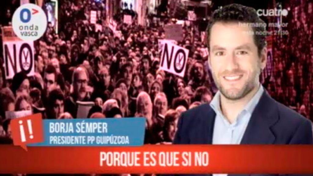 El presidente del PP en Guipúzcoa pide limpiar el partido ¡caiga quién caiga!