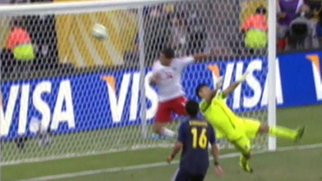 Gol: Japón 0–1 México (min.54)