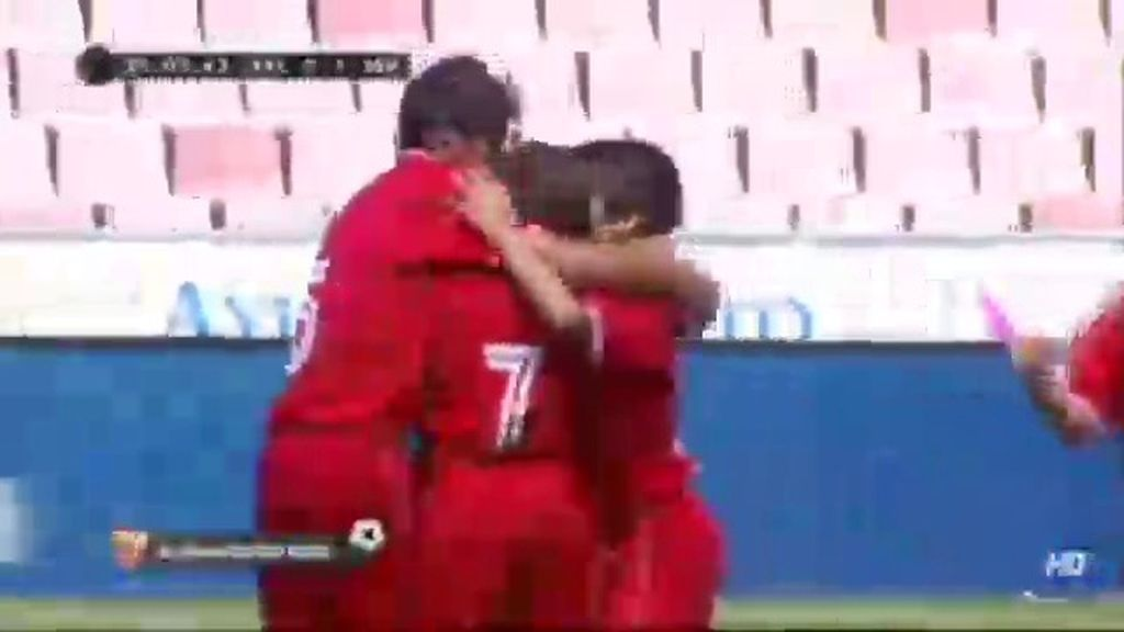 Gol: Valencia 0-1 Sevilla (min.15)