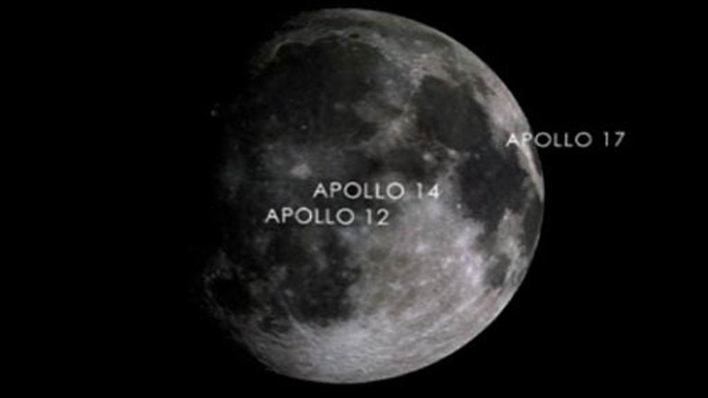 Huellas en la Luna