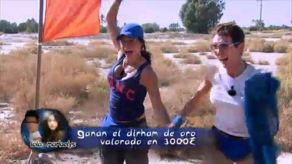 Lola y Marbelys ganan la primera etapa y consiguen el Dirham de oro