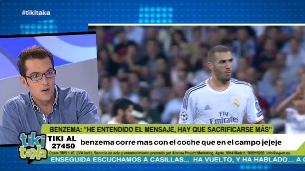 """Látigo Serrano: """"La situación de Benzema en el Bernabéu es irreversible"""""""