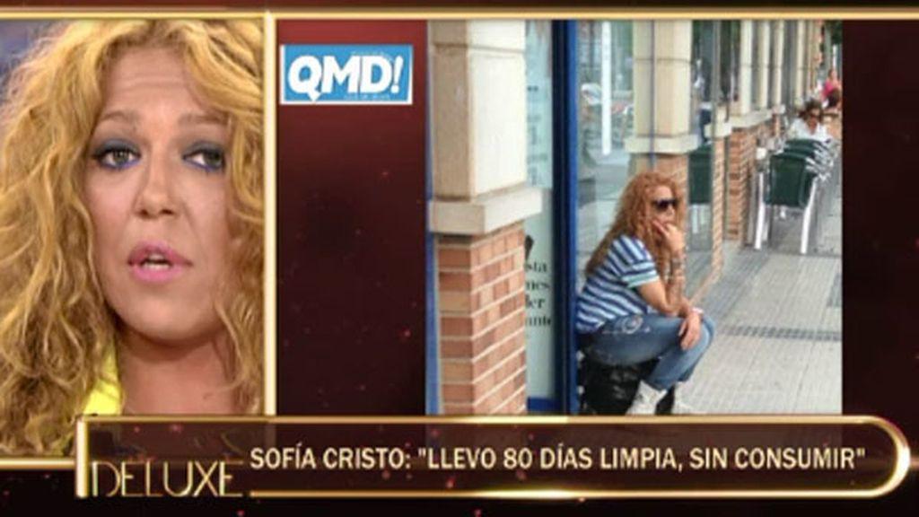 """Sofía Cristo: """"La semana pasada yo tuve un acercamiento a Madrid"""""""