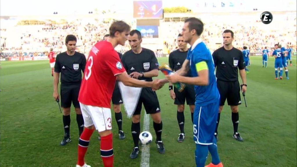 Resumen: Noruega 1-1 Italia