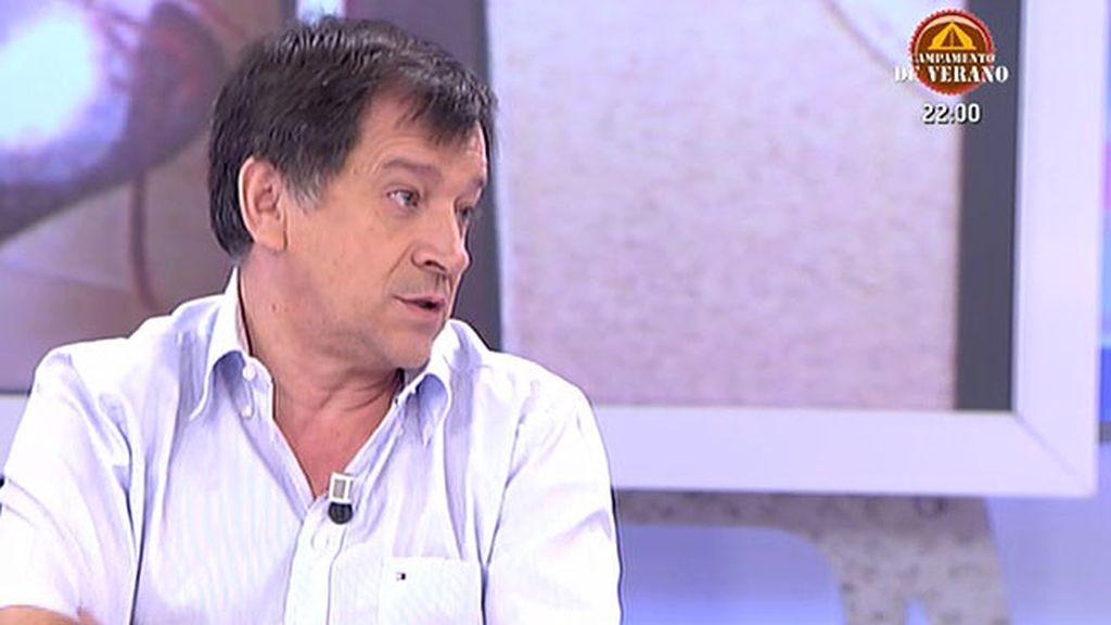 """Manuel, padre de Eva Blanco: """"Pienso que fue alguien del círculo de Eva"""""""