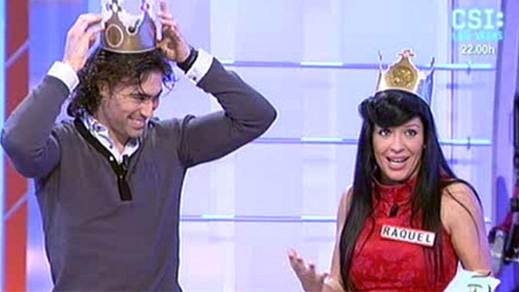 Raquel corona a Reche