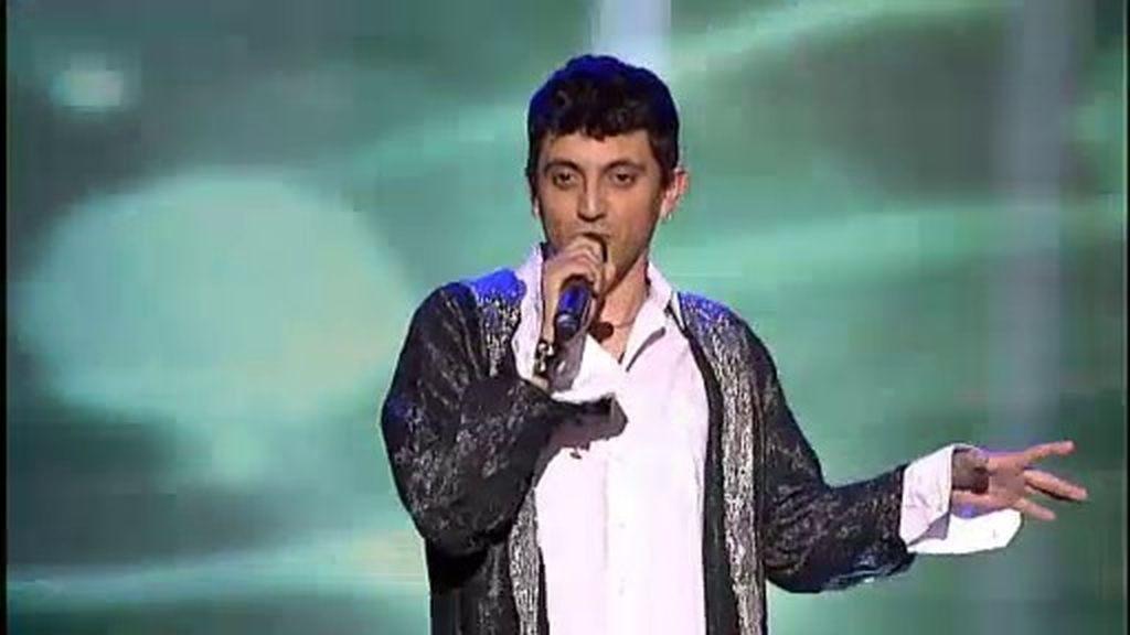 Andrés Lázaro, finalista