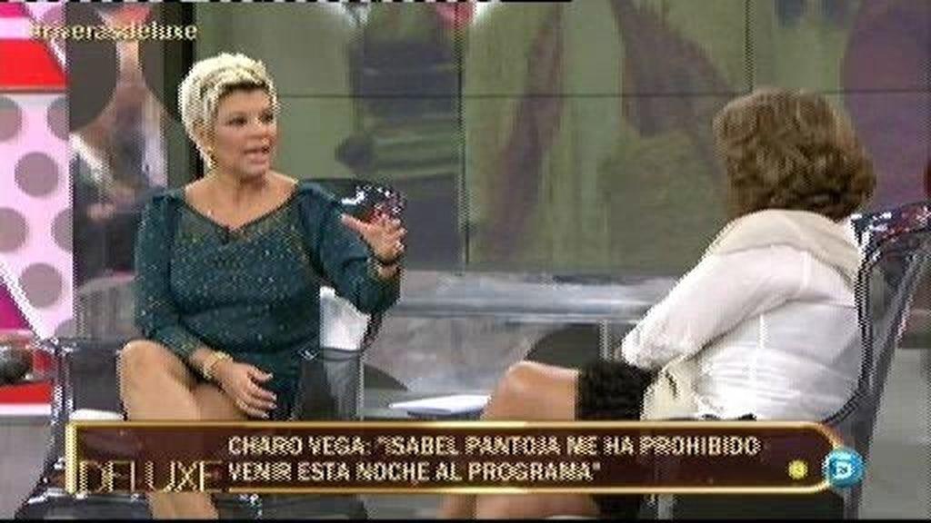"""Charo Vega: """"Isabel me exigía a gritos que no viniera al Deluxe"""""""