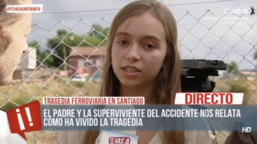 """Elena, superviviente: """"Tuve mucho miedo. No me lo creía. Pensé que era un sueño"""""""