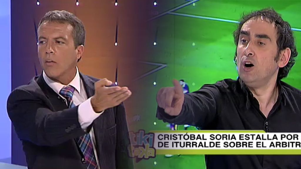 """Cristóbal Soria, sobre el arbitraje al Sevilla en el Camp Nou: """"No me gusta hablar de robo, pero me lo ponéis a huevo"""""""