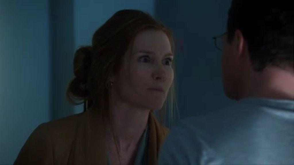 Abby rompe con David por su supuesto pasado como maltratador