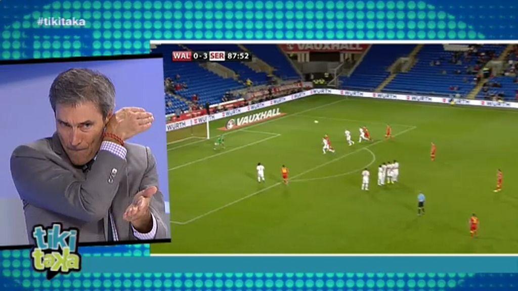 Lobo Carrasco te enseña a chutar como Cristiano Ronaldo y Gareth Bale