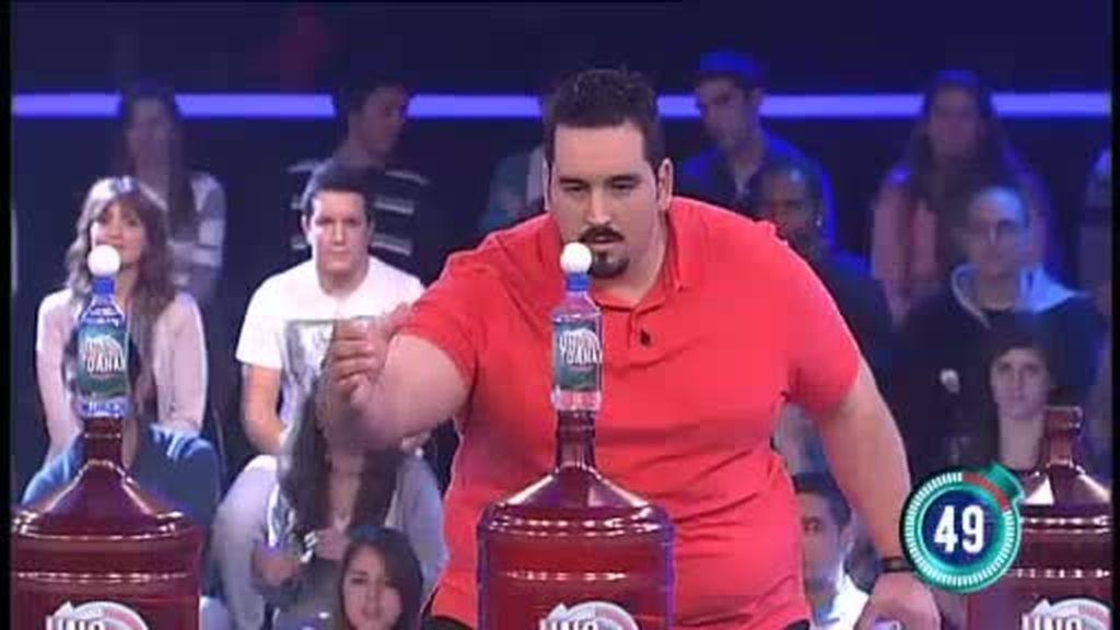 Sergio, lo tuyo no es el ping pong