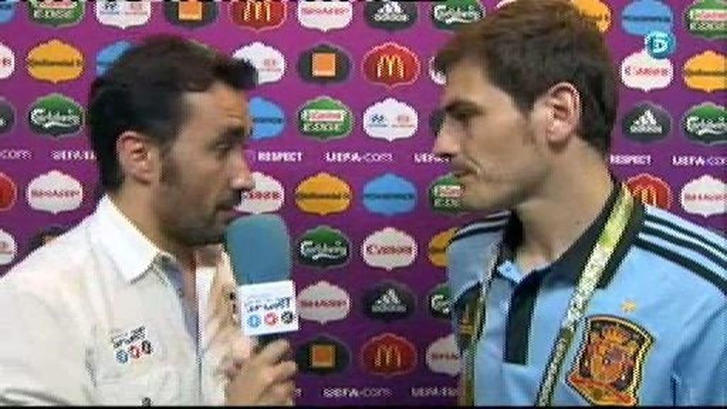 """Casillas: """"Todo el mundo conoce nuestro juego"""""""