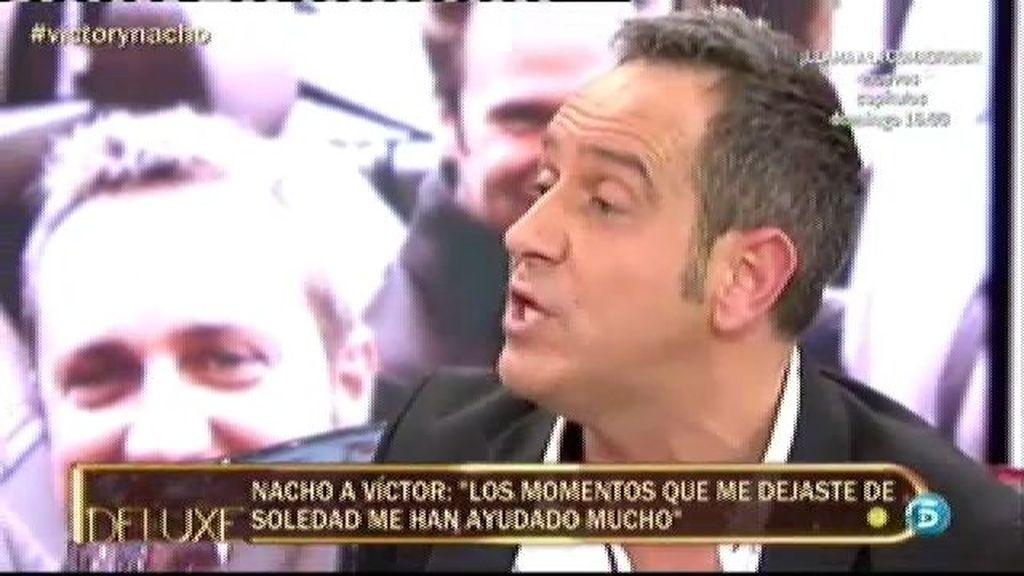 """Víctor Sandoval, a Nacho Polo: """"Eres una persona sin sentimientos"""""""