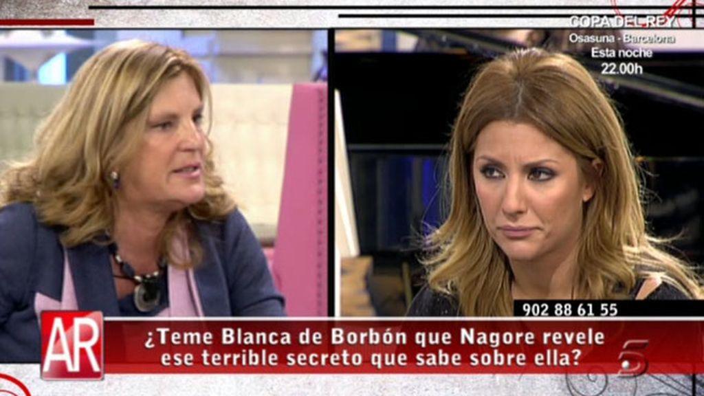 """Blanca de Borbón, a Nagore: """"Jesucristo perdonó a Judas y Judas lo mató"""