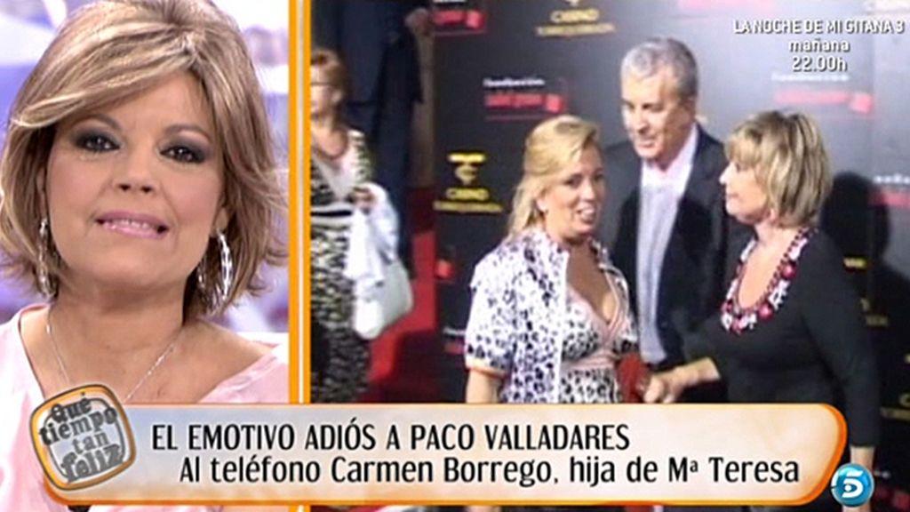 Carmen Borrego quiere estar junto a su madre y su hermana