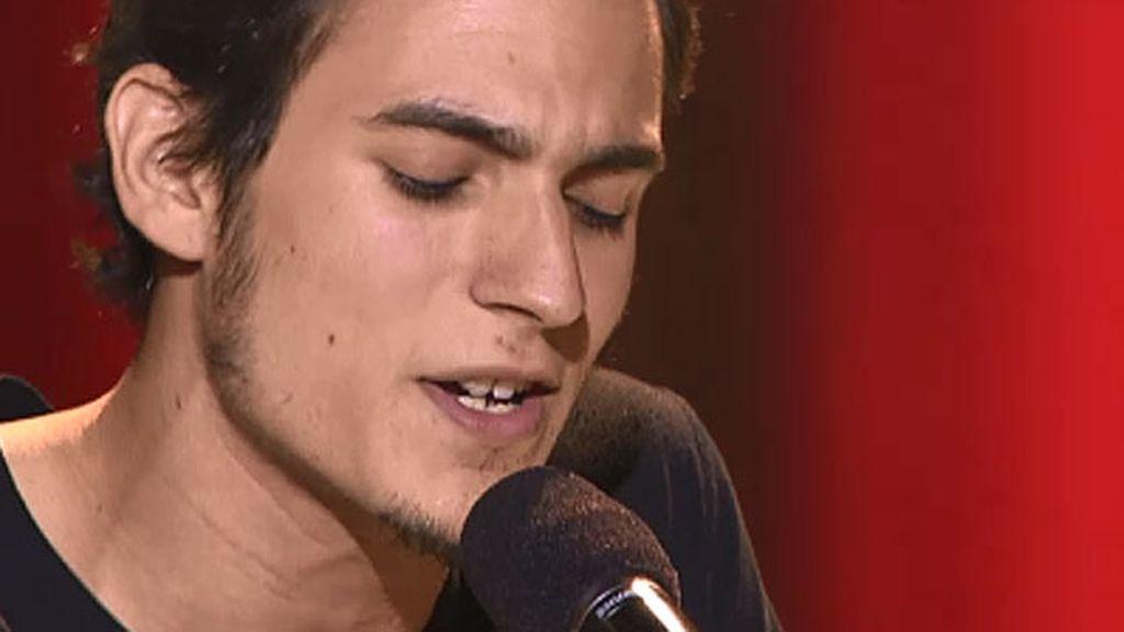 Álex Tysen, 20 años, músico