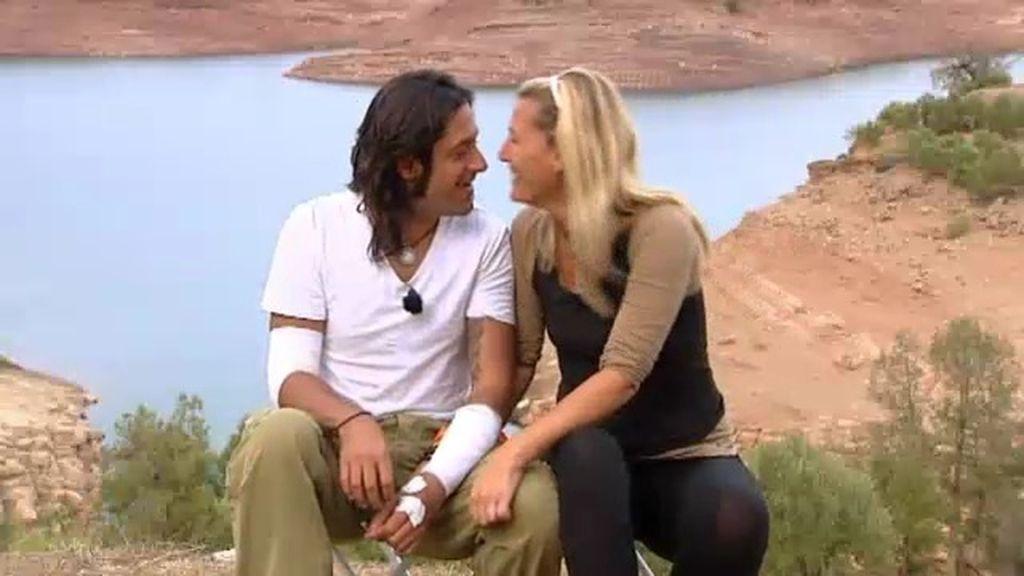 Rafael Amargo y Yolanda Jiménez abandona la carrera de buen rollo