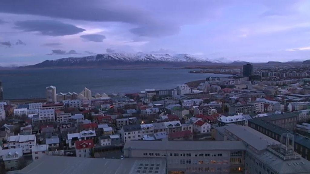 Reikiavik está calentado con agua caliente
