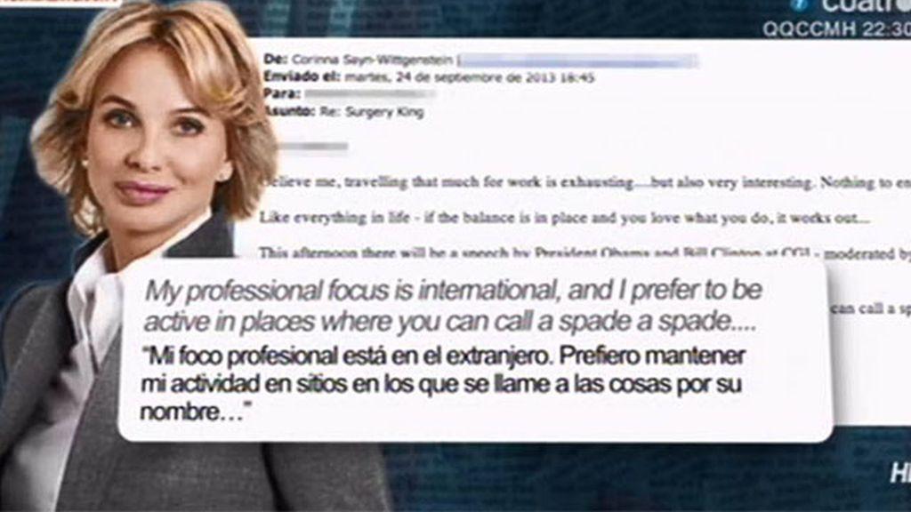 ¿Dónde estaba Corinna mientras operaban a Don Juan Carlos?