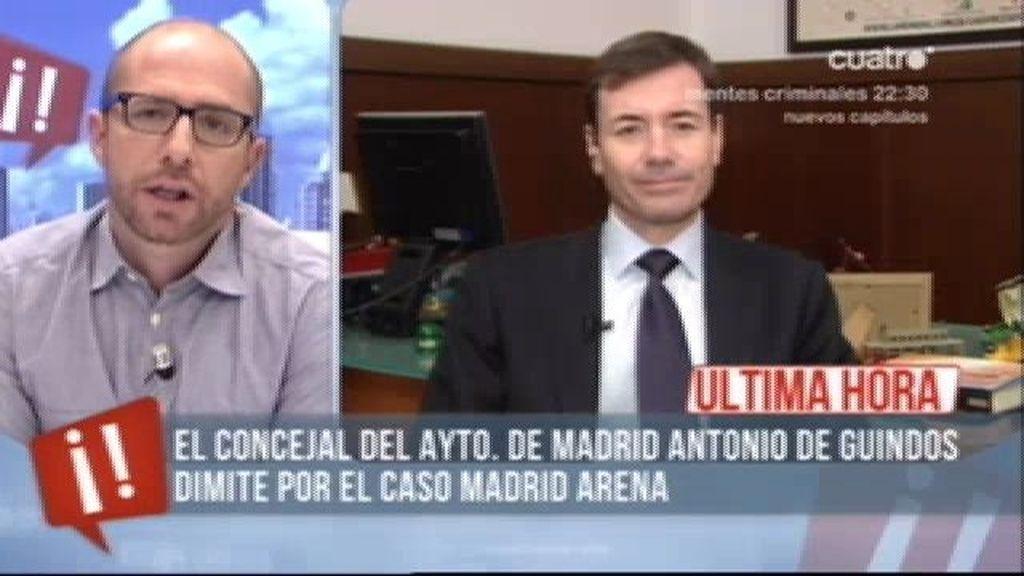 """Tomás Gómez: """"Mariano Rajoy no tiene autoridad moral en España"""""""